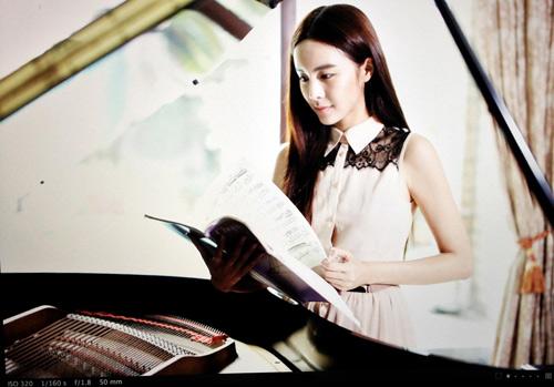 """Ngất ngây trước """"nữ thần piano"""" gợi cảm nhất châu Á - 13"""