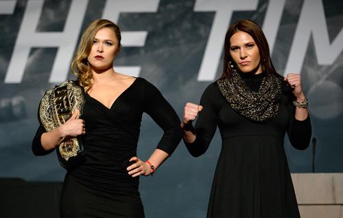 """UFC: Mỹ nhân Rousey đại chiến """"người thép"""" Zingano - 2"""