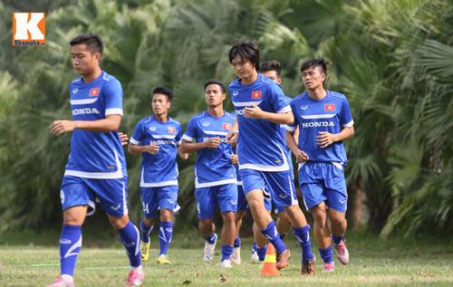 """U23 VN: Tuấn Anh loay hoay với """"trò chơi"""" của HLV Miura - 1"""