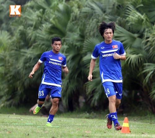 """U23 VN: Tuấn Anh loay hoay với """"trò chơi"""" của HLV Miura - 3"""