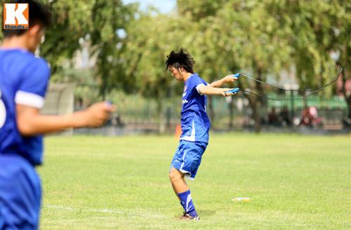 """U23 VN: Tuấn Anh loay hoay với """"trò chơi"""" của HLV Miura - 12"""