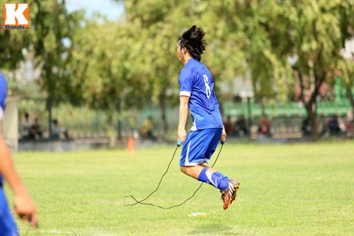 """U23 VN: Tuấn Anh loay hoay với """"trò chơi"""" của HLV Miura - 13"""