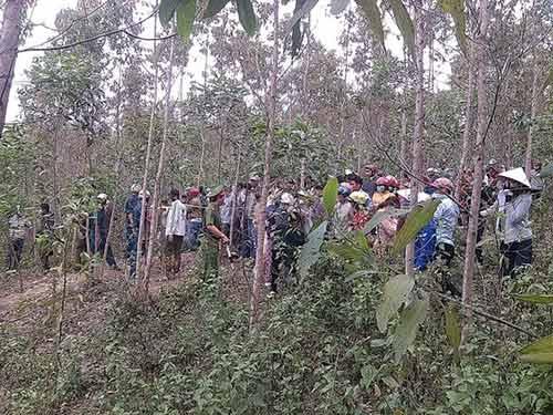 Phát hiện thi thể nữ sinh bị phân hủy trong rừng - 1