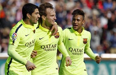 TRỰC TIẾP Granada - Barca: Song tấu Messi - Suarez (KT) - 3
