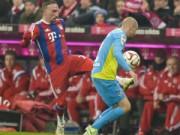 Bayern - Cologne: Nhẹ tựa lông hồng
