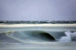 Kỳ thú hiện tượng sóng biển đóng băng