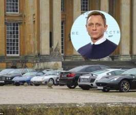 Dàn siêu xe của James Bond lộ diện