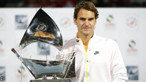 Djokovic – Federer: Đơn giản đến không ngờ (CK Dubai) - 1