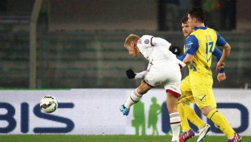 Chievo – Milan: Bộ mặt bạc nhược - 1