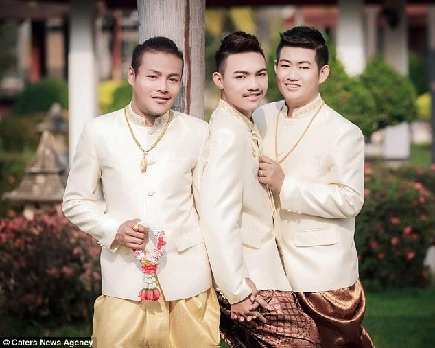 Đám cưới đồng tính 3 người siêu đặc biệt ở Thái Lan - 3