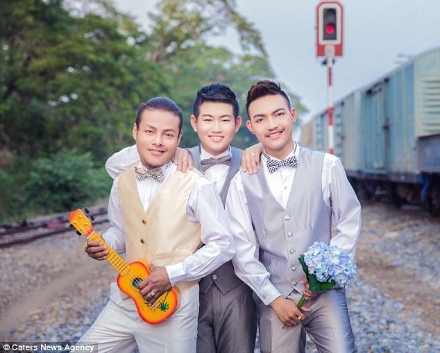 Đám cưới đồng tính 3 người siêu đặc biệt ở Thái Lan - 2