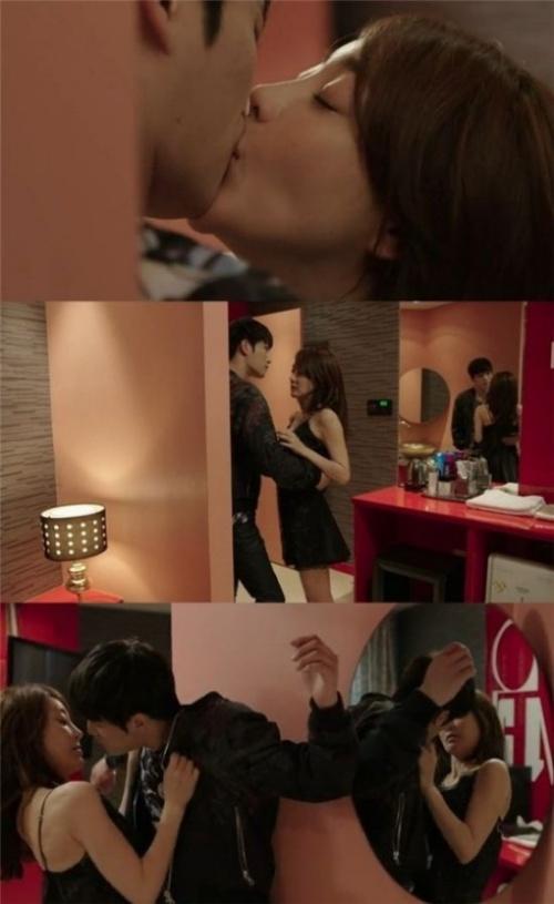 Hôn say đắm Kim Jaejoong, người đẹp bị chồng nổi giận - 2