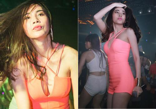 Thời trang diễn quán bar gợi cảm của ca sĩ Việt - 2