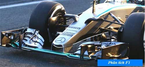 """F1 2015: Với W06, Mercedes vẫn """"vô đối"""" (P1) - 1"""