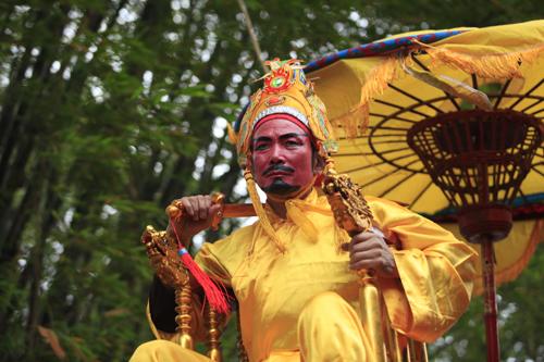 Lễ rước vua sống độc nhất Hà thành - 11
