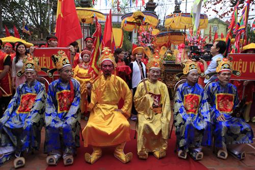 Lễ rước vua sống độc nhất Hà thành - 8