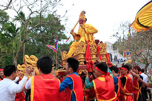 Lễ rước vua sống độc nhất Hà thành - 20