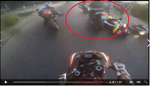 """Nhóm mô tô """"phượt"""" lên tiếng vụ tai nạn chết người - 2"""