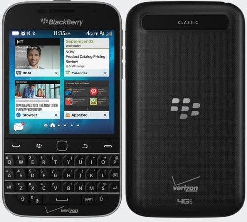Điện thoại BlackBerry Classic không máy ảnh sắp ra mắt - 1