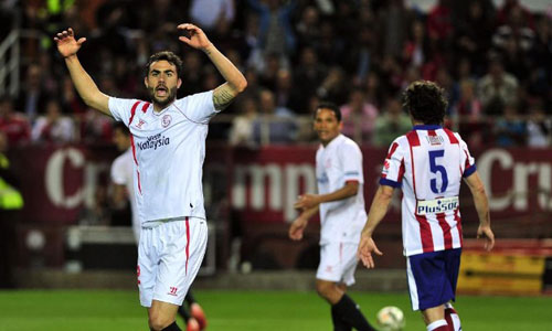 Sevilla - Atletico: Nỗ lực bất thành - 1