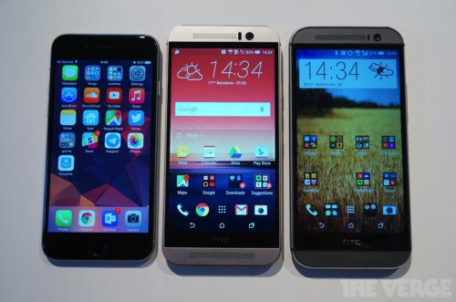 HTC One M9 trình làng: Thiết kế ấn tượng, cấu hình ổn - 1