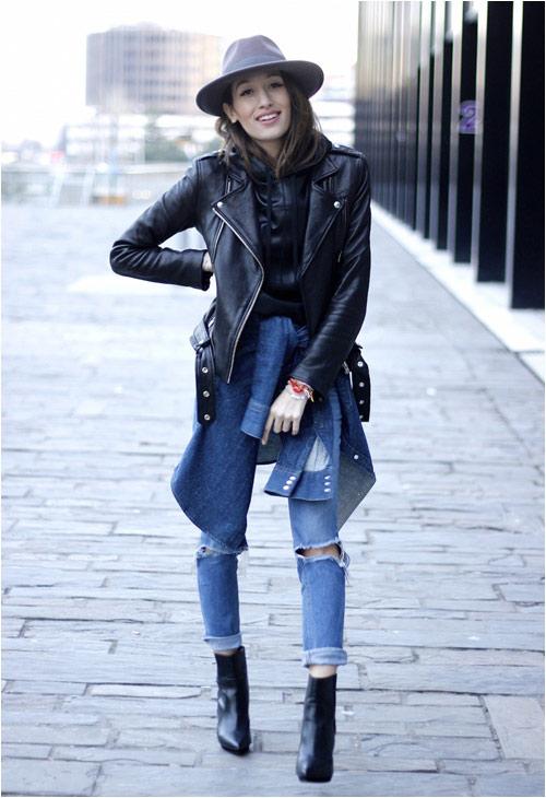 Jeans rách: Đặc quyền của nàng cá tính - 8