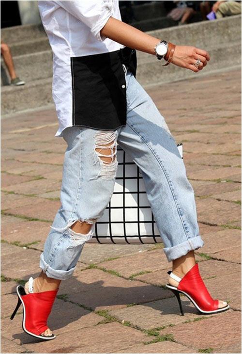 Jeans rách: Đặc quyền của nàng cá tính - 1