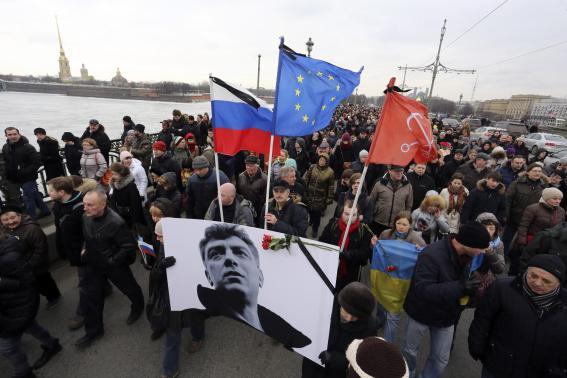 21.000 người Nga tưởng niệm cựu phó thủ tướng bị ám sát - 2