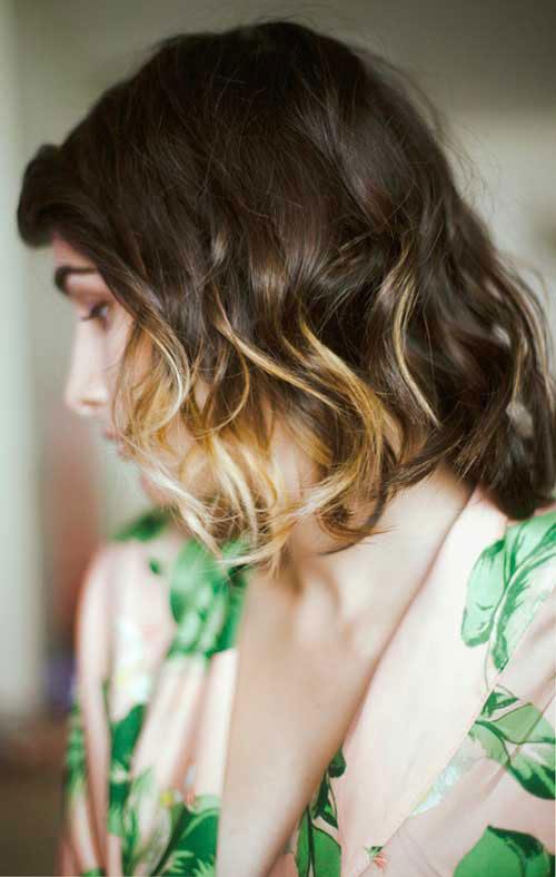 """15 kiểu nhuộm ombre cho tóc ngắn cực """"hot"""" - 1"""