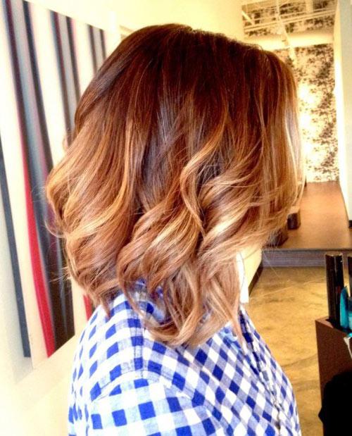 """15 kiểu nhuộm ombre cho tóc ngắn cực """"hot"""" - 4"""
