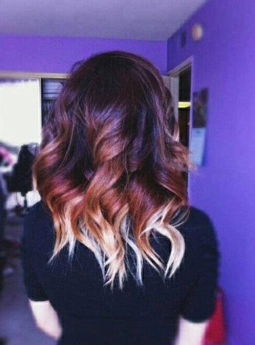 """15 kiểu nhuộm ombre cho tóc ngắn cực """"hot"""" - 7"""