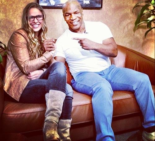"""Chủ tịch UFC: Rousey là """"Mike Tyson phiên bản nữ"""" - 2"""