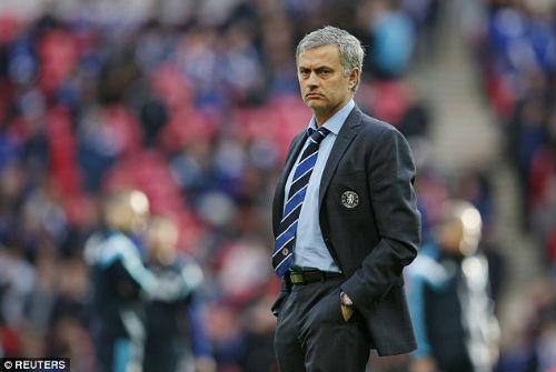 """Chùm ảnh Mourinho: """"Người đặc biệt"""" nhất ở Wembley - 1"""