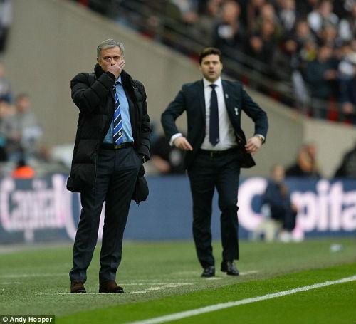 """Chùm ảnh Mourinho: """"Người đặc biệt"""" nhất ở Wembley - 4"""
