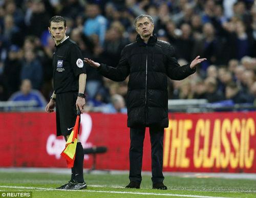 """Chùm ảnh Mourinho: """"Người đặc biệt"""" nhất ở Wembley - 5"""
