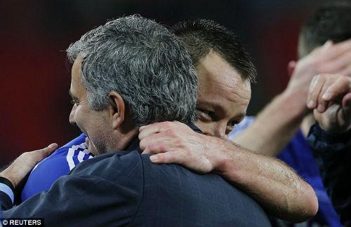 """Chùm ảnh Mourinho: """"Người đặc biệt"""" nhất ở Wembley - 7"""