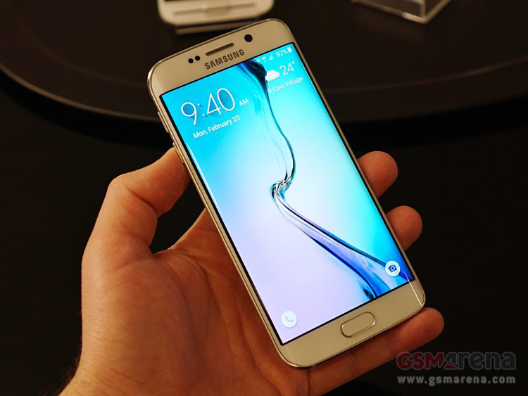 Samsung Galaxy S6 Edge màn hình cong chính thức ra mắt tại MWC 2015
