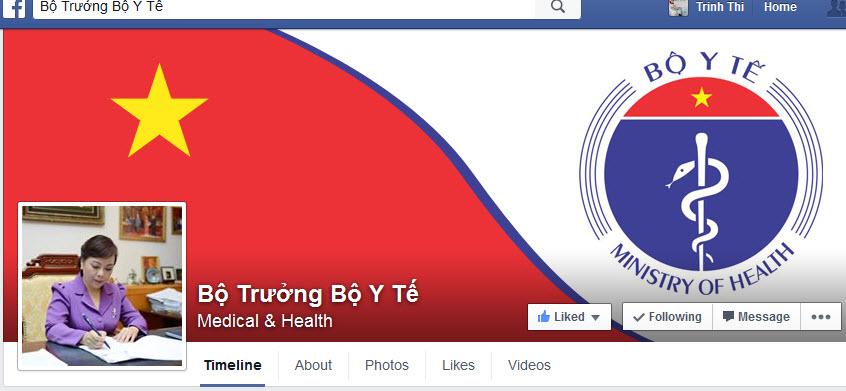 Bộ trưởng Y tế chính thức nhận phản ánh qua Facebook - 1