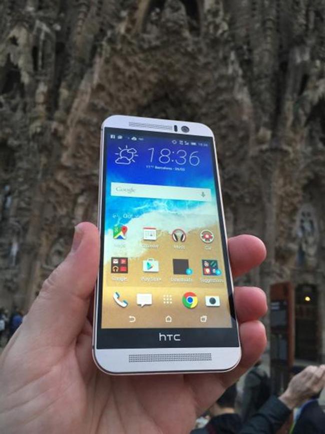 Trên tay HTC One M9.
