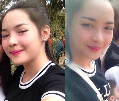 """Cô gái Nam Định xinh đẹp bất ngờ sau 3 tháng """"dao kéo"""" - 4"""