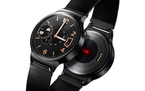 Đồng hồ thông minh Huawei Watch trình làng: Sang trọng, lịch lãm - 2