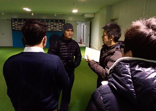 """Công Vinh cùng """"Chelsea VN"""" muốn gây bất ngờ ở Nhật - 1"""