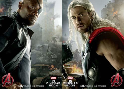 "Poster mới Avengers 2 khiến mọt phim ""phát sốt"" - 1"