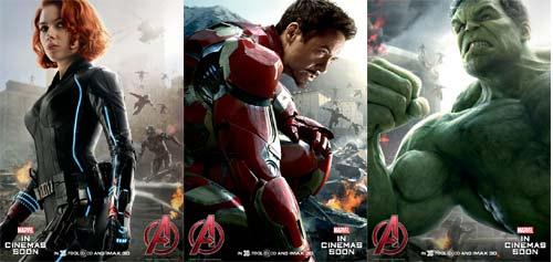 "Poster mới Avengers 2 khiến mọt phim ""phát sốt"" - 2"