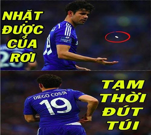 Ảnh chế tuần 1/T3: Sư phụ Penaldo, đắng lòng Costa - 6
