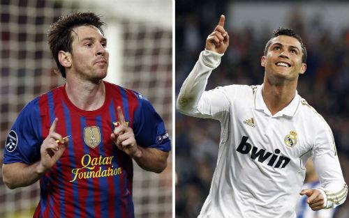 Giày vàng châu Âu: Ronaldo sa sút vẫn hơn Messi - 1