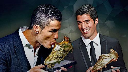 Giày vàng châu Âu: Ronaldo sa sút vẫn hơn Messi - 2