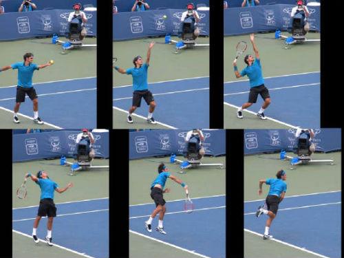 """Federer và cú đánh """"trẻ mãi không già"""" - 1"""
