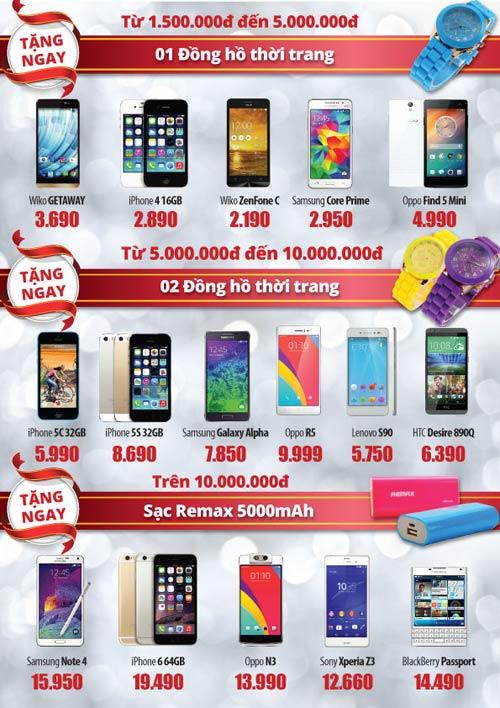 Loạt Smartphone giảm giá nhiều nhất sau Tết - 5