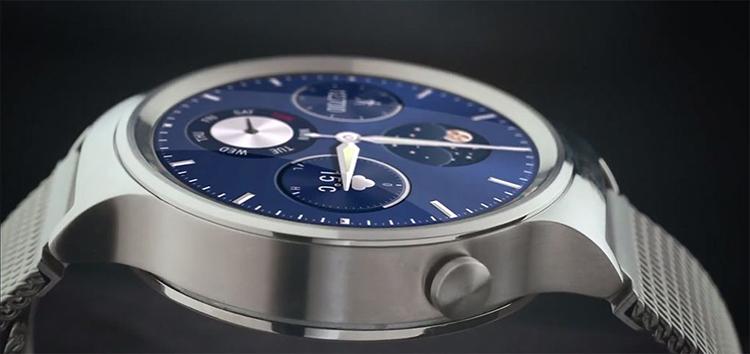 Khung đồng hồ được làm bằng thép không gỉ.